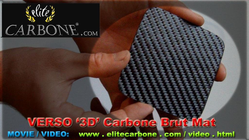 Elite Carbone Plaque Design